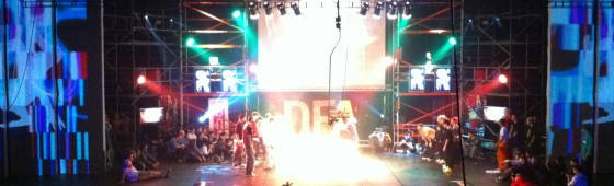 Stage design a vizualizace pro DFA 2012