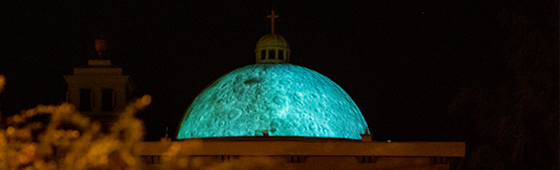 Odvrácená strana Měsíce byla vidět v Olomouci